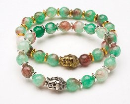 BUDDHA POWER BRACELET - RAINBOW JASPER