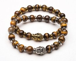 BUDDHA POWER BRACELET - TIGER EYE