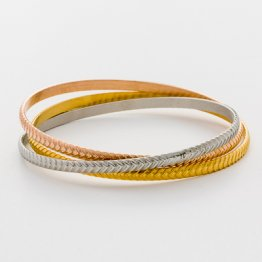 Tri-Color Bangle Set --- Arrows  TR-03