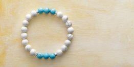 8MM HOWLITE - TURQUOISE