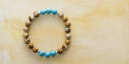 8MM PICTURE JASPER - TURQUOISE